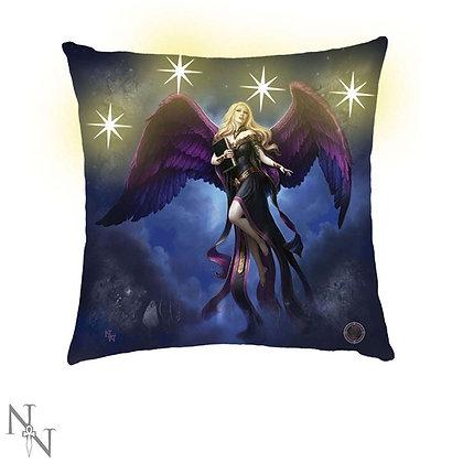 Dark Messenger Angel Light Up Cushion - James Ryman