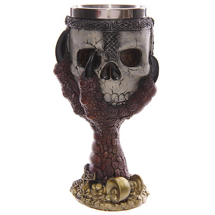 Dragon Claw and Skull Goblet