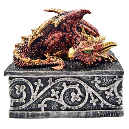 Dragon Safehold Trinket Box 8.4cm