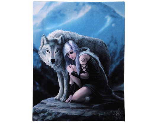 Protector Wolf - Anne Stokes Canvas