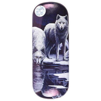 Winter Warrior Wolf - Lisa Parker Glasses Case