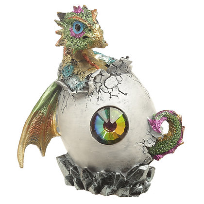 Crystal Birth Dragon Ornament
