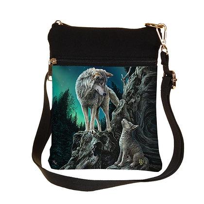 Guidance Wolf Shoulder Bag 23cm (Lisa Parker)