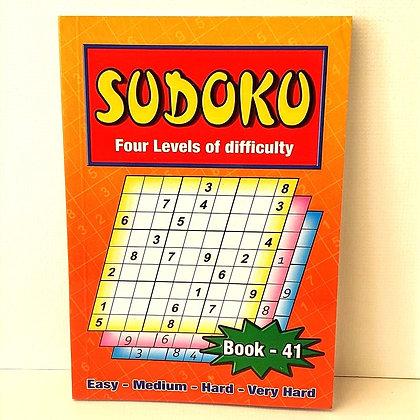 A5 Sudoku Puzzle Book No.41