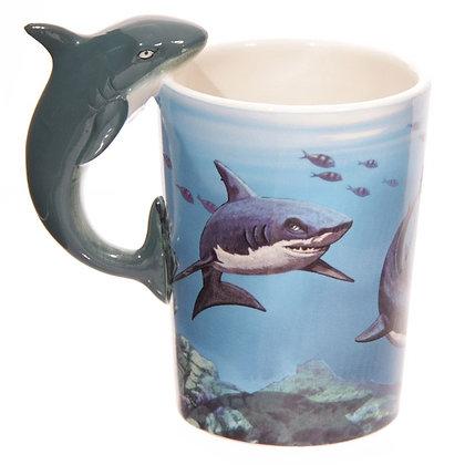 Shark Handle Ceramic Mug (Lisa Parker)