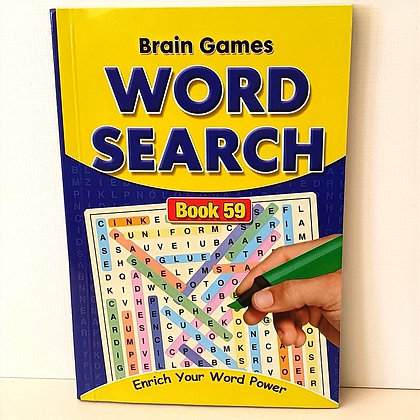 A5 Word Search Puzzle Book No. 59