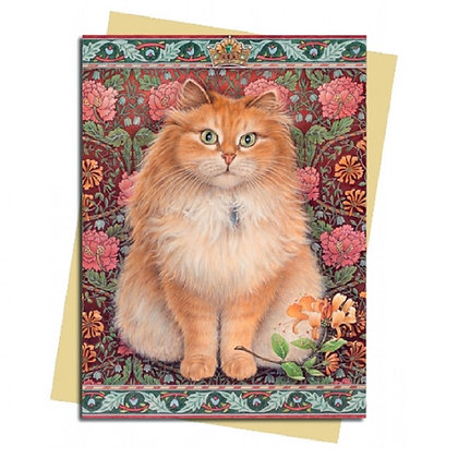 Blossom The Cat Greeting Card
