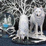 Wolf Ornaments and Figures