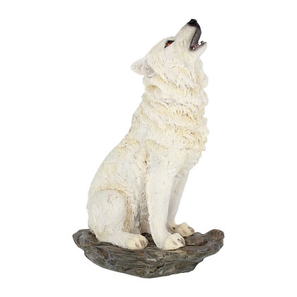 Storms Cry Wolf Ornament 20cm