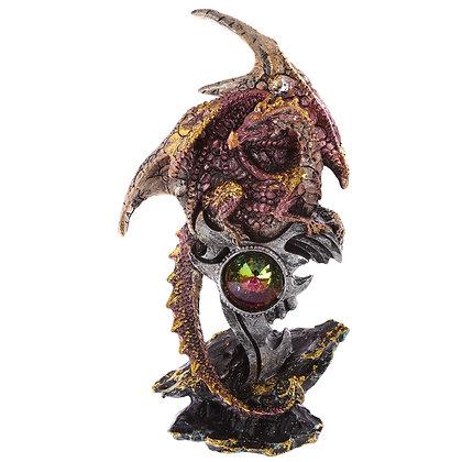 Emblem Crystal Dragon Figure
