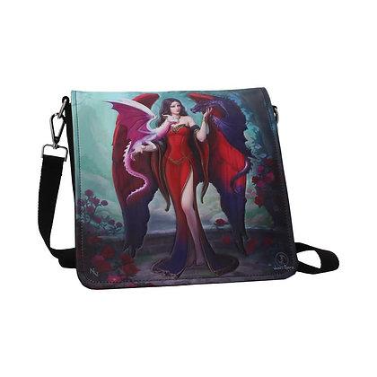 Dragon Mistress Embossed Shoulder Bag - James Ryman