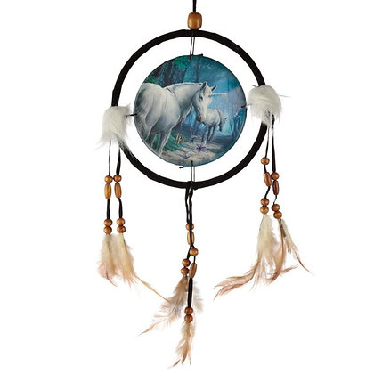 The Journey Home Unicorn Lisa Parker Dreamcatcher - 16cm