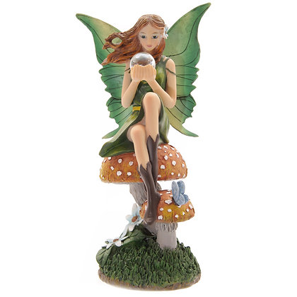 Emerald Prophecy Fairy Figure (Lisa Parker)