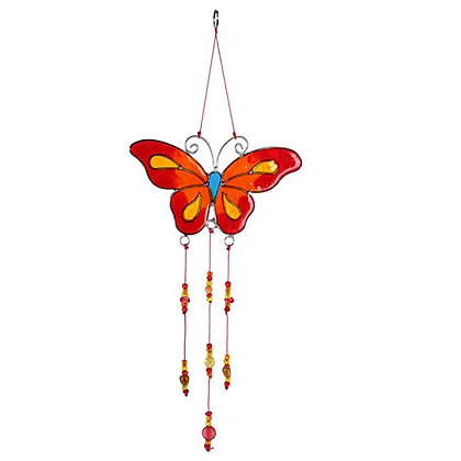 Butterfly Sun Catcher (Red & Orange)