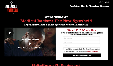 Medical Racism documentary