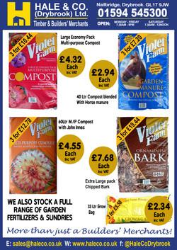 We stock Violet Composts