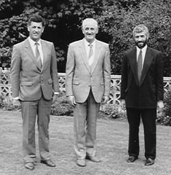 Jim Hale with Roger & Leslie