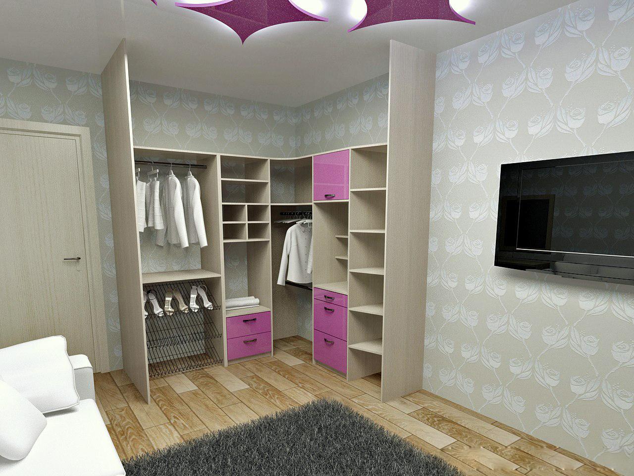 Проект гардеробной на заказ спб