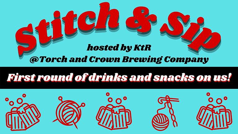 KtR's August Stitch & Sip