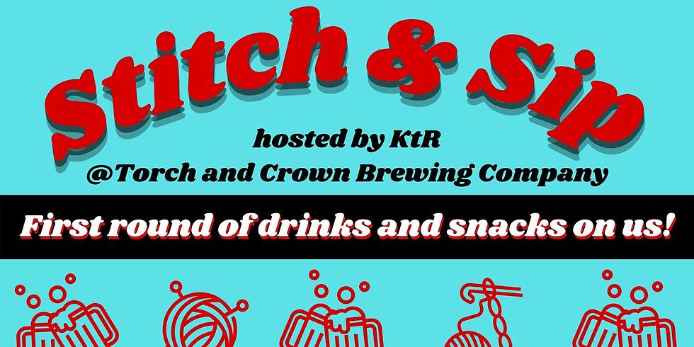 KtR's July Stitch & Sip