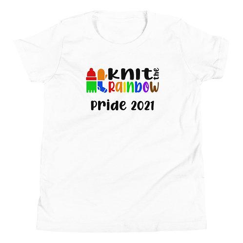 Youth KtR Pride 2021 T-Shirt (White)