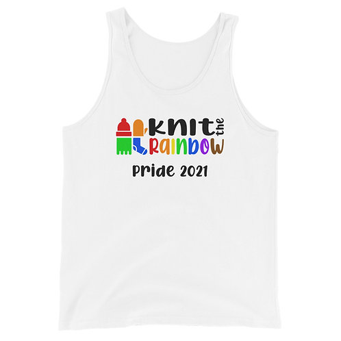 White Unisex KtR Pride 2021 Tank Top