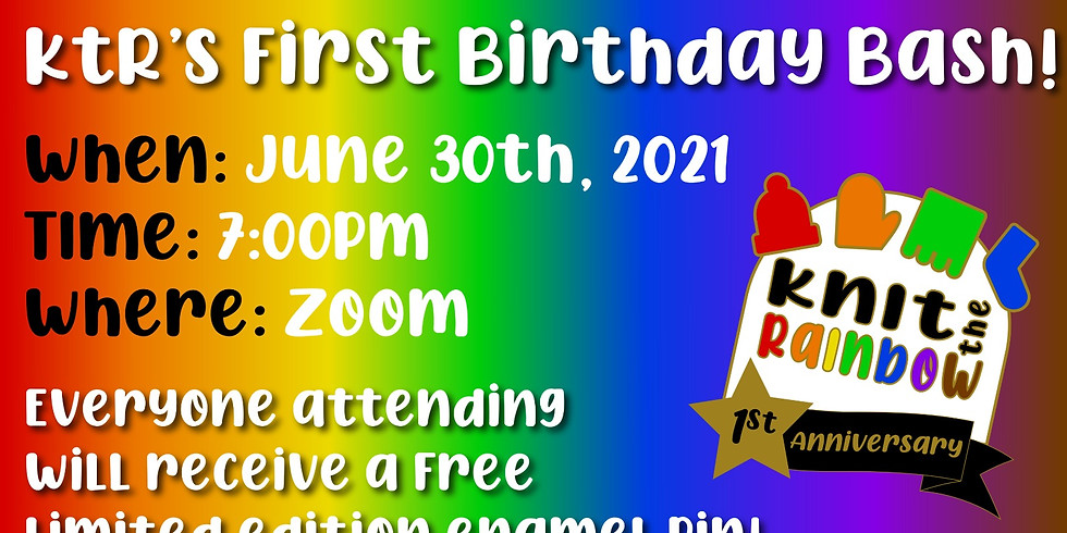 KtR's First Birthday Bash!