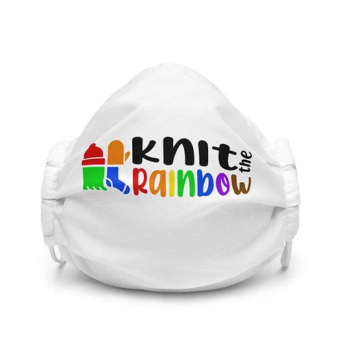 White KtR Pride Face Mask