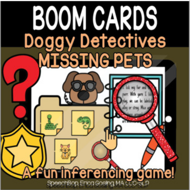 Doggy Detectives (An Inferencing Deck)