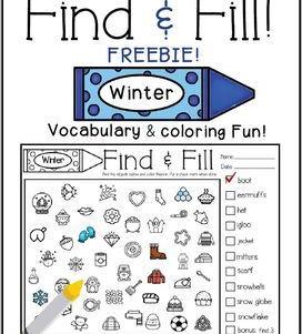 Find & Fill Winter