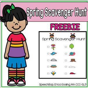 Spring Scavenger Hunt