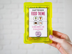 Chatter Box Food Theme Product