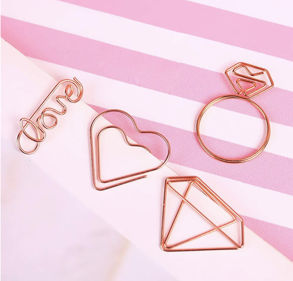The cutest paper clips one ever did see!