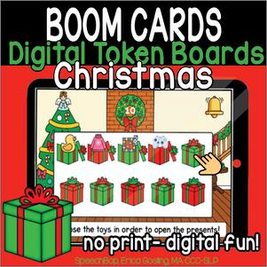 Digital Token Board - Christmas