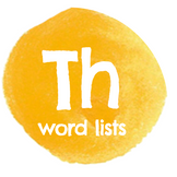 TH Word Lists