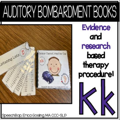 Auditory Bombardment Books - Kk