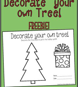 Decorate your own tree!
