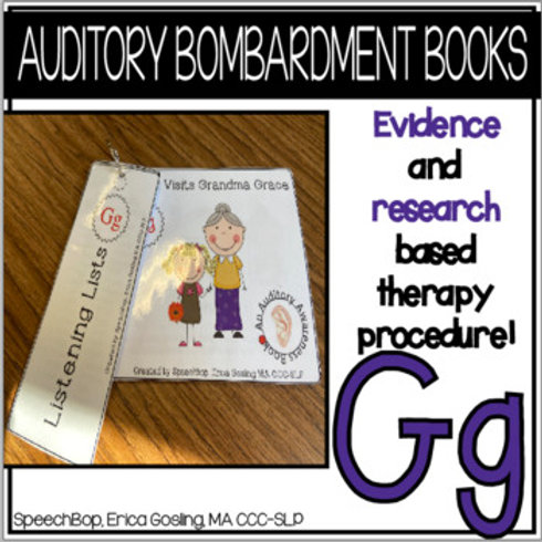 Auditory Bombardment Books - Gg