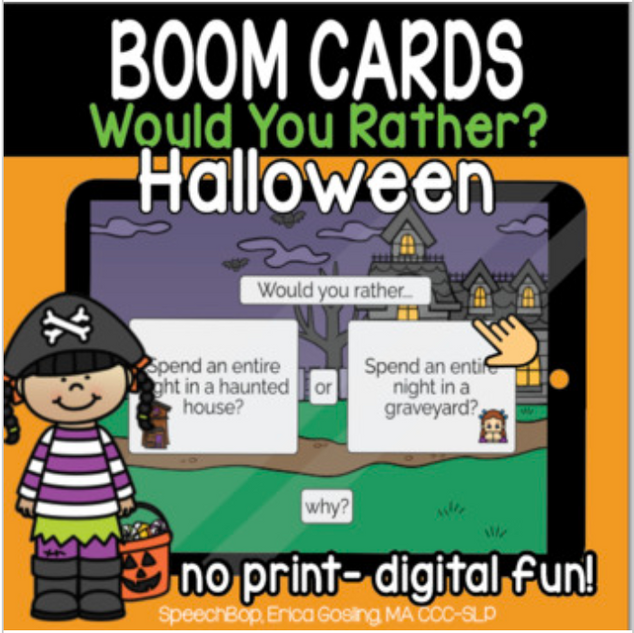 Would You Rather? Halloween Edition