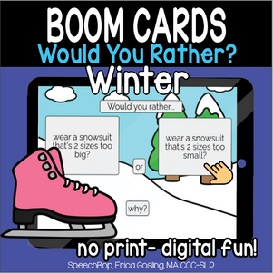 Would You Rather? Winter Edition