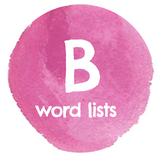 B Word Lists
