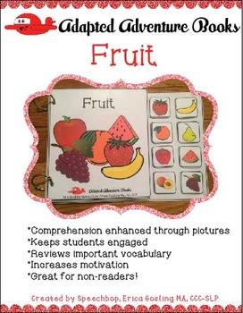 Interactive Book - Fruit