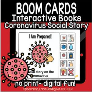 Interactive Books - Coronavirus Social Story
