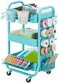 The dreamiest craft cart