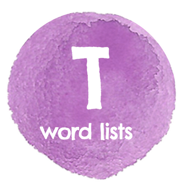D Word Lists