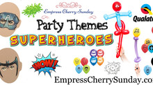 Party Themes: Superheros