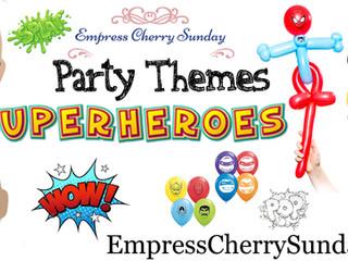 Party Themes: Superheros