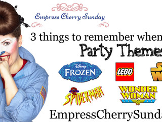 3 things to remember when using party themes.