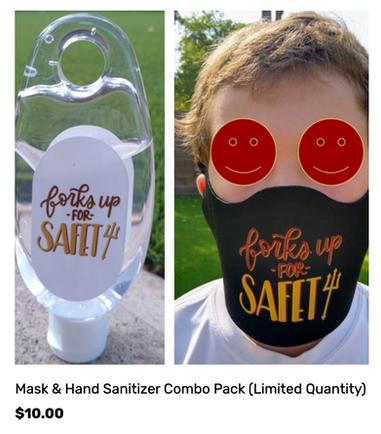 Hand Sanitizer - Mask Combo