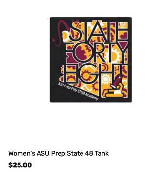 Women's ASU PREP State48 Tank